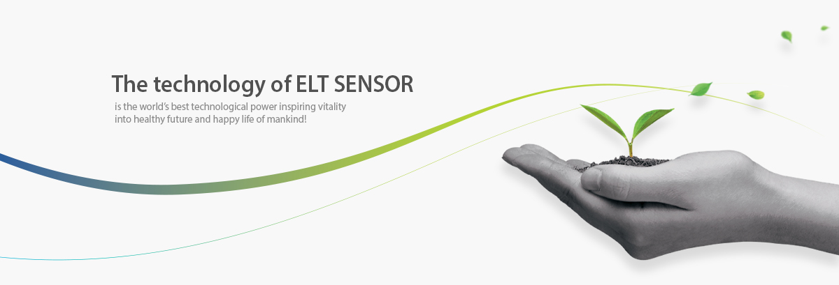 The technology of ELT SENSOR - is the world's best technological power inspiring vitality into healthy future and happy life of mankind!